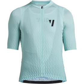 VOID Print 2.0 Maillot Manches courtes Homme, mint streck